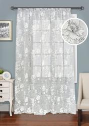 Keindahan udara: Tirai organza akan menambah gaya canggih ke rumah anda.195+ (Foto) varian gabungan, pendek, putih. Rahsia belanja yang betul