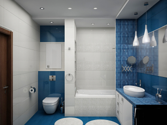 Bilik mandi Scandinavia: Kesederhanaan, Kemudahan dan Keselesaan (200+ Foto). Buat zona selesa untuk diri sendiri