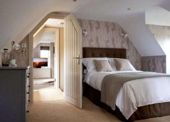 Idea reka bentuk yang menakjubkan. Bilik tidur di loteng: 200+ (Foto) Bahagian dalam Gaya kontemporari