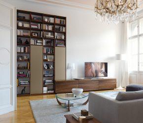 Oturma odasında modern duvarlar (370+ Fotoğraf): Modern oda tarzı