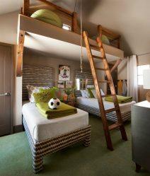 أنماط الغرف للشباب (175+ صور) - تصميمات مخصصة مصممة خصيصًا لجميع الاحتياجات
