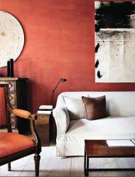 Terracotta Color in the Interior - Dari permulaan hingga hari ini. 195+ (Foto) Keserasian warna terang