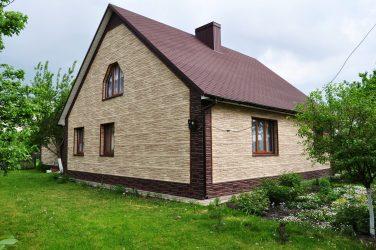Grounding Ground: Ciri-ciri bahan. 180+ (Foto) do-it-yourself trim luar (batu, plastik, kayu)