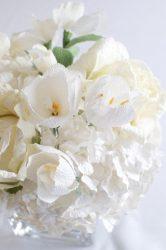 Oluklu kağıttan elinizle şekerlenmiş çiçekler nasıl yapılır? Master sınıf +75 Lüks buketlerin fotoğrafları