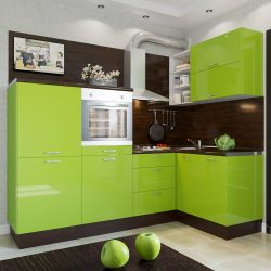 코너 주방 디자인 : 주방 헤드셋을위한 175+ 사진 솔루션