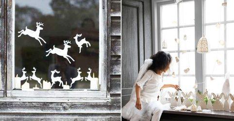 Bagaimana untuk membuat hiasan di tingkap kertas dengan tangan mereka sendiri? (150+ Foto). Kami memenuhi Tahun 2018 Anjing yang baru dengan indah