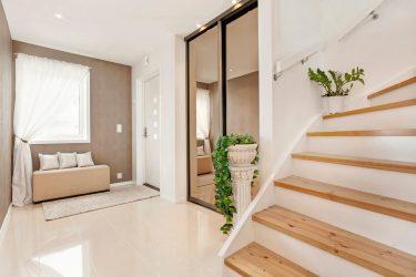 Koridorda gömme dolap: 170+ Tasarım ve fikir fotoğrafları.Alan düzenlemeyi öğrenme
