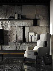 Kemasan batu dalaman (215 Gambar): Rahsia pedalaman yang kuat