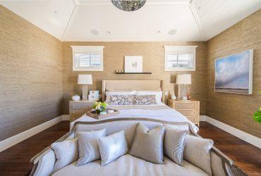 Kertas dinding cair di bahagian dalam bilik biasa (150+ Foto): Ciri-ciri penggunaan