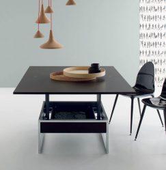 커피 테이블을 선택할 때 무엇을 찾아야합니까? 225+ (사진) 나무, 유리, 바퀴의 옵션